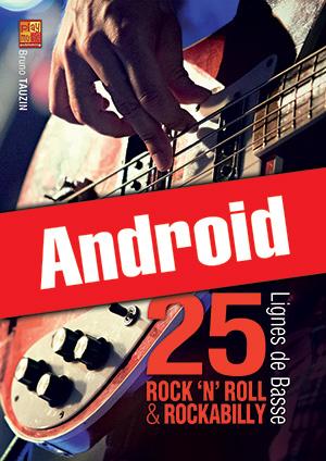 25 lignes de basse rock 'n' roll & rockabilly (Android)