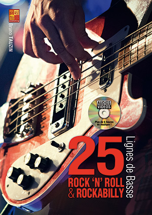 25 lignes de basse rock 'n' roll & rockabilly