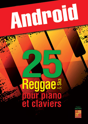 25 reggae & ska pour piano et claviers (Android)