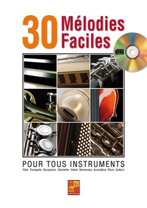 30 mélodies faciles - Accordéon
