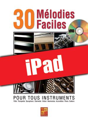 30 mélodies faciles - Flûte (iPad)
