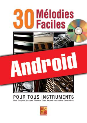 30 mélodies faciles - Saxophone (Android)