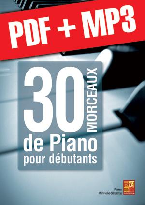 30 morceaux de piano pour débutants (pdf + mp3)