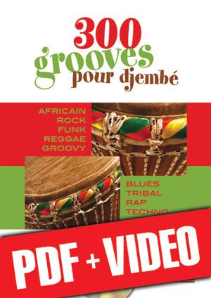 300 grooves pour djembé (pdf + vidéos)