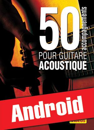 50 accompagnements pour guitare acoustique (Android)