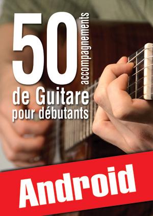 50 accompagnements de guitare pour débutants (Android)