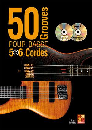 50 grooves pour basse 5 & 6 cordes