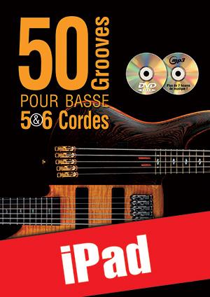 50 grooves pour basse 5 & 6 cordes (iPad)