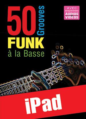 50 grooves funk à la basse (iPad)