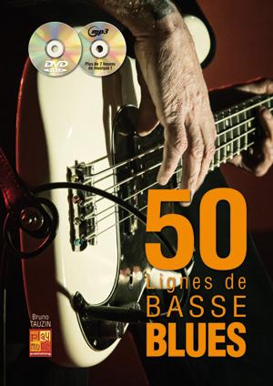 50 lignes de basse blues