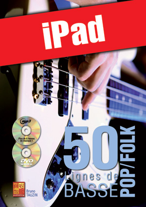 50 lignes de basse pop/folk (iPad)