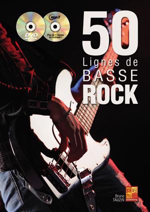 50 lignes de basse rock
