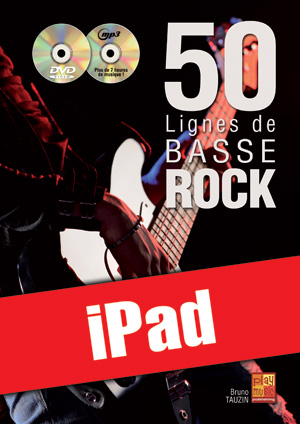 50 lignes de basse rock (iPad)