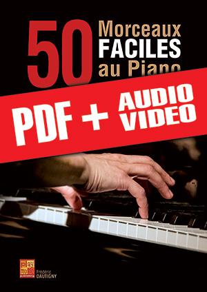 50 morceaux faciles au piano (pdf + mp3 + vidéos)