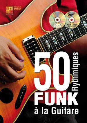 50 rythmiques funk à la guitare