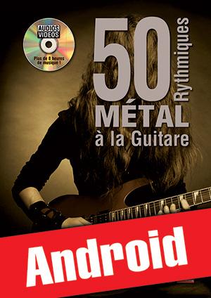 50 rythmiques métal à la guitare (Android)