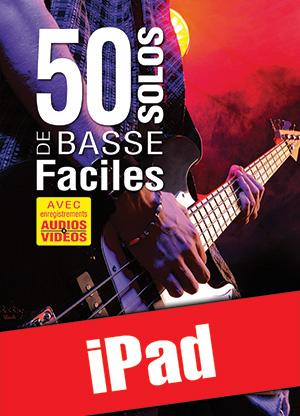 50 solos de basse faciles (iPad)