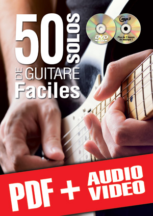 50 solos de guitare faciles (pdf + mp3 + vidéos)