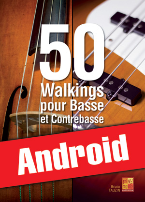 50 walkings pour basse et contrebasse (Android)