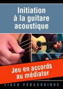 Jeu en accords au médiator