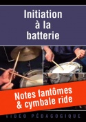 Notes fantômes & cymbale ride