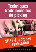 Slide & morceau d'application