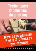 New bass patterns 2 et 3 & 5 basses par mesure