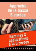 Gammes & applications à la 5 cordes