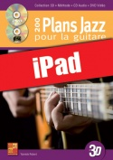 200 plans jazz pour la guitare en 3D (iPad)