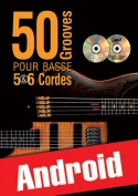 50 grooves pour basse 5 & 6 cordes (Android)