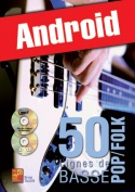 50 lignes de basse pop/folk (Android)