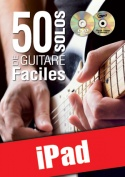 50 solos de guitare faciles (iPad)