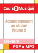 Accompagnement au clavier - Volume 2