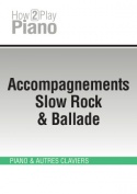 Accompagnements Slow Rock & Ballade
