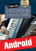J'apprends l'accordéon à touches piano (Android)