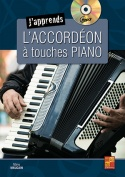 J'apprends l'accordéon à touches piano