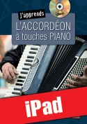 J'apprends l'accordéon à touches piano (iPad)