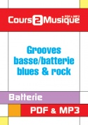 Grooves basse/batterie - Blues & rock