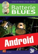 La batterie blues en 3D (Android)