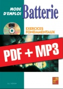 Batterie Mode d'Emploi - Exercices fondamentaux (pdf + mp3)