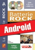 La batterie rock en 3D (Android)