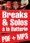 Breaks & solos à la batterie (pdf + mp3)