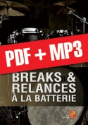 Breaks & relances à la batterie (pdf + mp3)