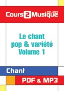 Le chant pop & variété - Volume 1