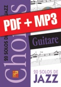 Chorus Guitare - 20 solos de jazz (pdf + mp3)