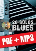 Chorus Piano - 20 solos de blues (pdf + mp3)