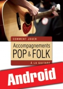 Accompagnements pop & folk à la guitare (Android)