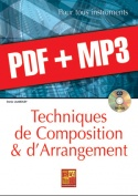 Techniques de composition & d'arrangement - Guitare (pdf + mp3)