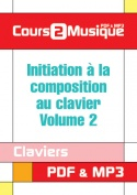 Initiation à la composition au clavier - Volume 2