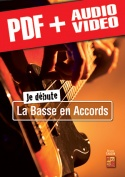 Je débute la basse en accords (pdf + mp3 + vidéos)